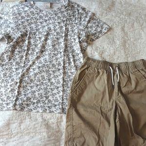 NWOT 8 10 BOYS ABERCROMBIE Tshirt Shorts